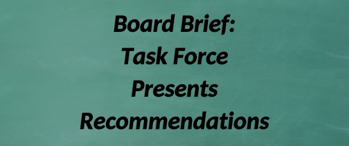 Hot Springs Village Task Force Recommendations to the BOD on August 4, 2021