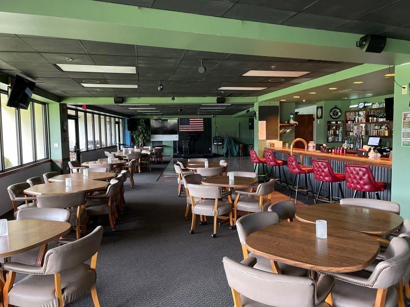 View of seating at The Turn at Balboa Club Hot Springs Village