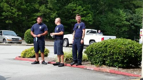 Hot Springs Village Fire Fighters Participate in the King Meet and Greet